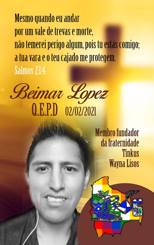 Faleceu Beimar Lopez, fundador da fraternidade boliviana Tinkus Wayna Lisos