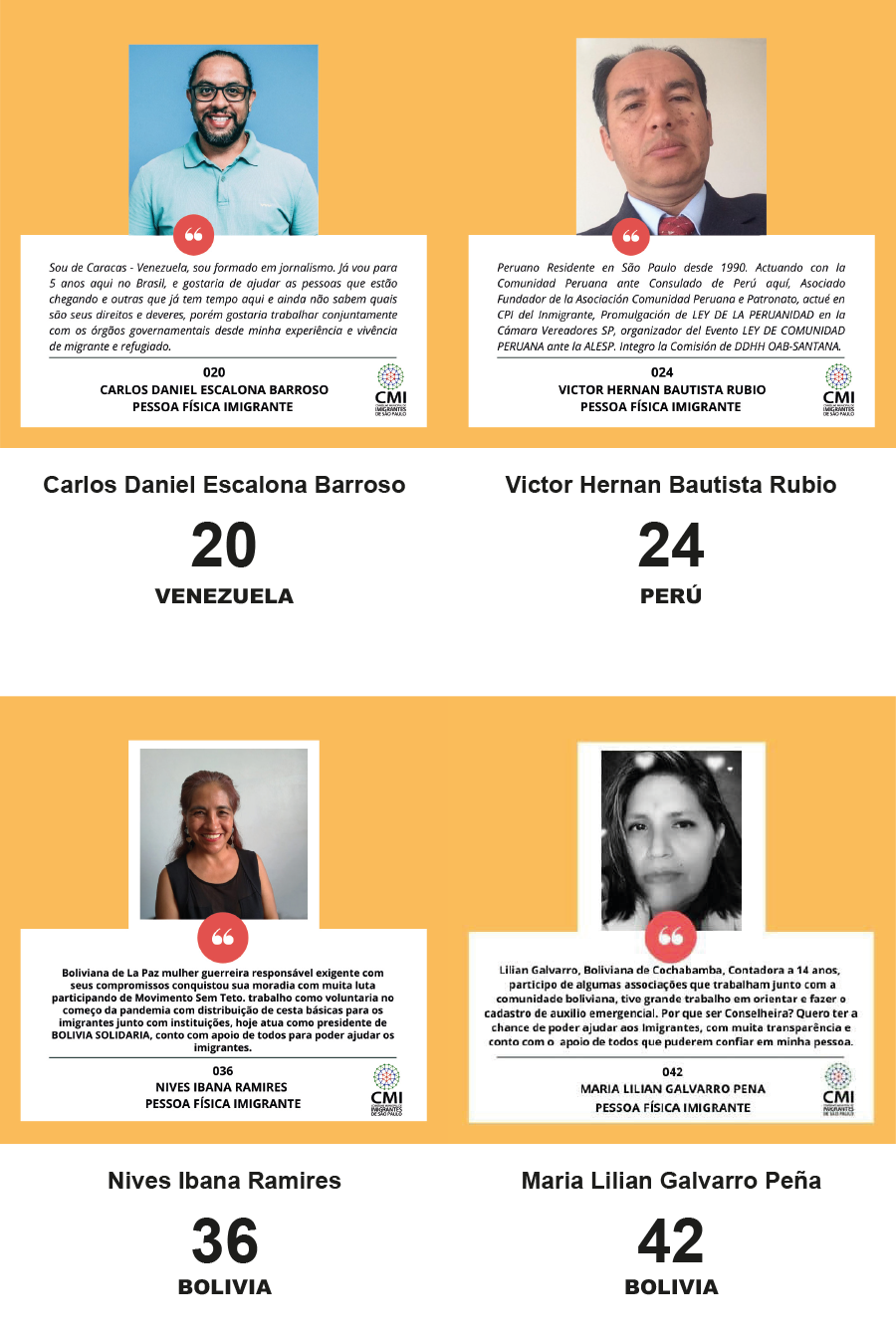 LIVE - DEBATE: Conheça as propostas dos candidatos ao Conselho Municipal de Imigrantes.