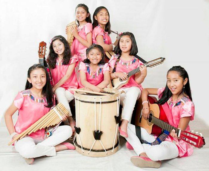Vídeo clip do grupo feminino Infantil WARITAS DA BOLÍVIA