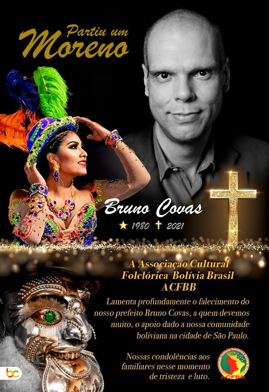 Um olhar da imigração paulistana, com os olhos de Bruno Covas