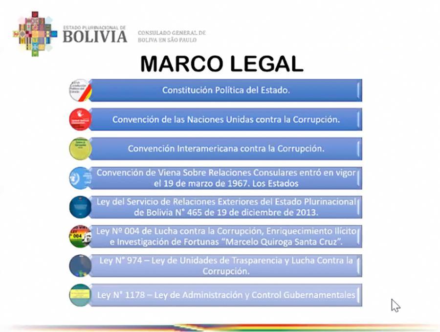 Rendição de contas do Consulado Geral Boliviano em SP