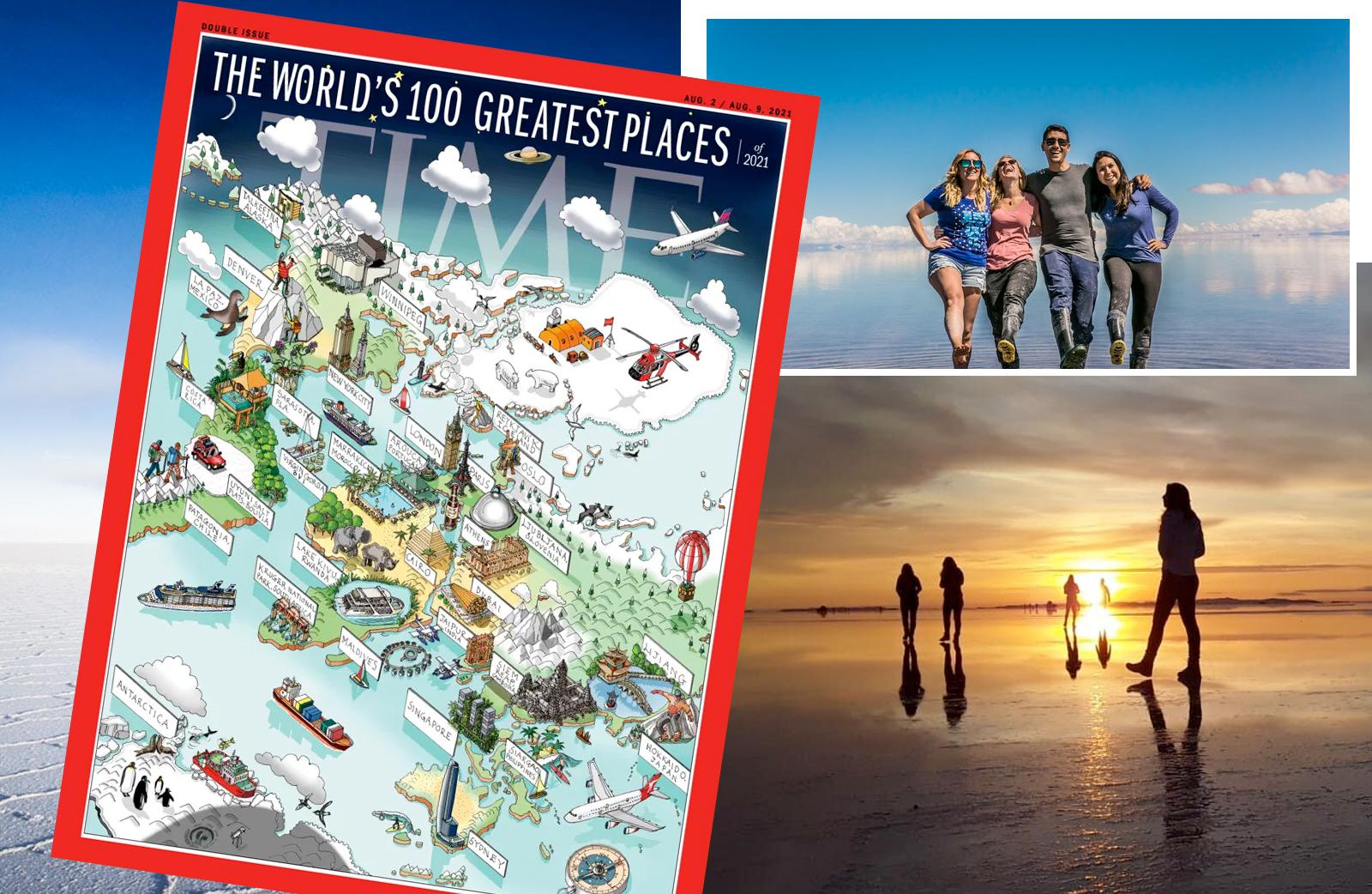 Revista TIME coloca UYUNI entre os 100 Melhores Lugares do Mundo
