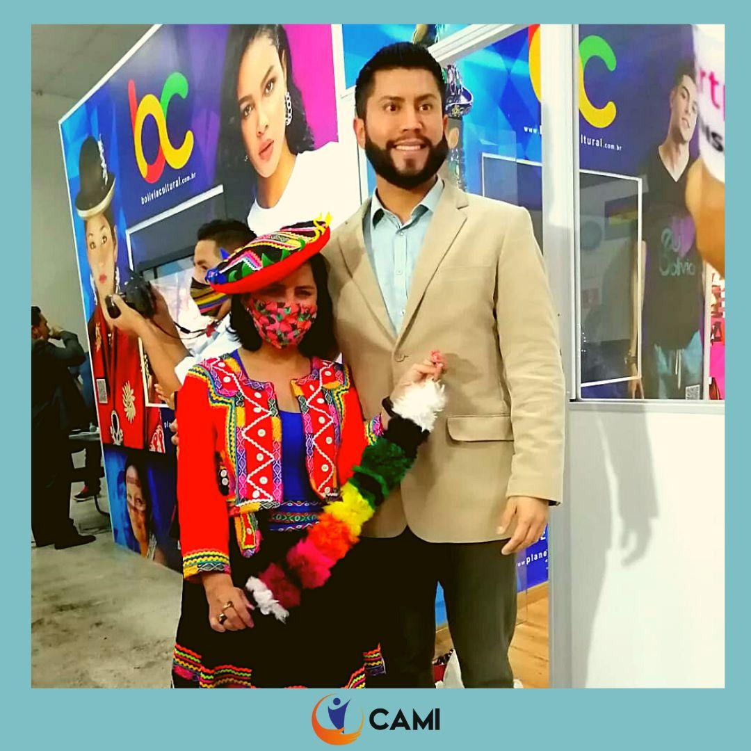 CAMI participou da inauguração do Cubo Cultural