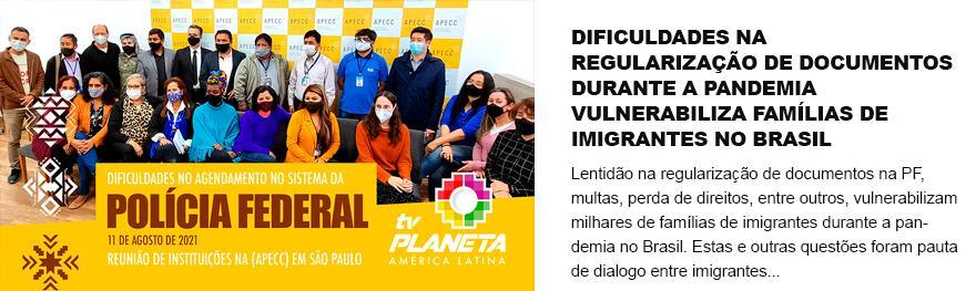 Mulheres são destaque no diálogo com o poder público a favor da regularização dos imigrantes
