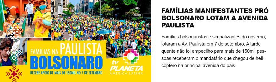 Manifestação contra Bolsonaro ocupa o Anhangabaú em São Paulo no sete de setembro