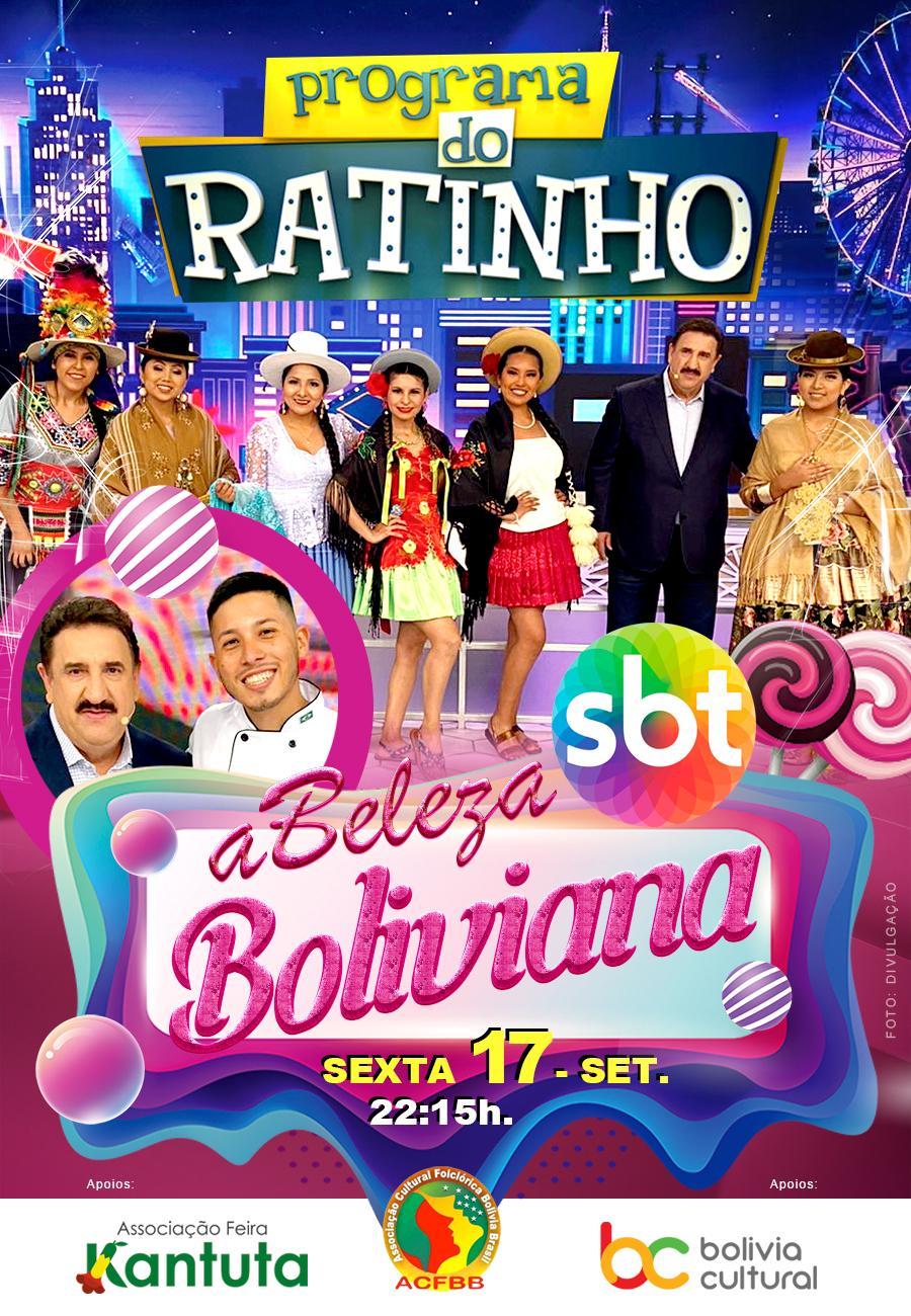 A beleza do folclore e gastronomia da Bolívia no Programa do Ratinho no SBT