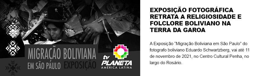 Show folclórico boliviano abre temporada de exposição fotográfica no Centro Cultural Penha